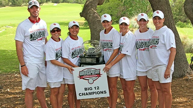 OU Women's Golf Captures Big 12 Championship In Record Fashion