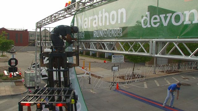 Preparations Made For Oklahoma City Memorial Marathon