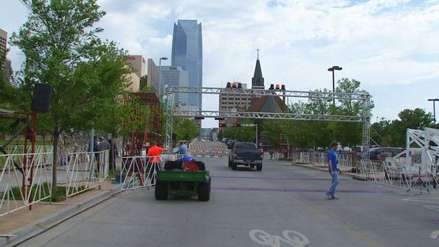 Preparations Made For Oklahoma City Memorial Marathon