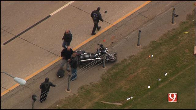 Motorcyclist Killed Along I-44 In NE OKC