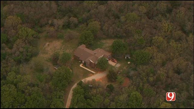 Police Investigate After Body Found Buried At Norman Home