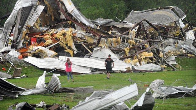 Tornadoes Bring Death, Destruction Across South