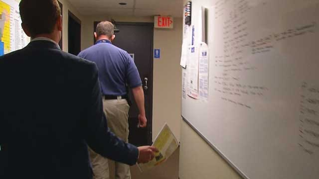 VIDEO: News 9 Tours OKC Bunker Command Center