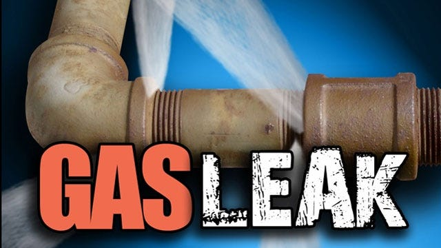 Crew Work to Cap Gas Leak In McLoud, Roadway Closed