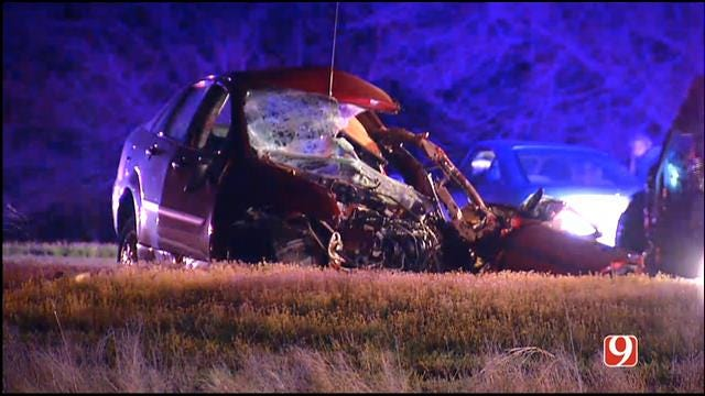 Woman Killed In Auto Accident In SW OKC