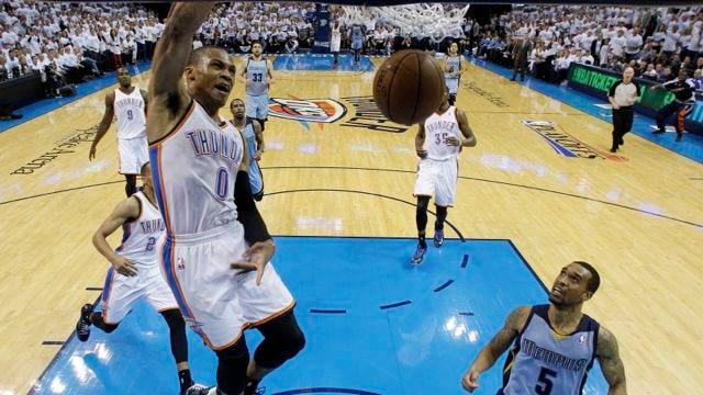 Overtime And Time Again: Thunder Falls Again In OT, Trails Series 3-2