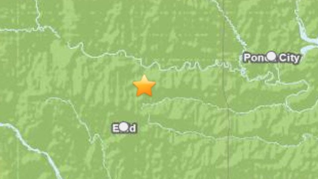Small Earthquake Recorded Near Enid