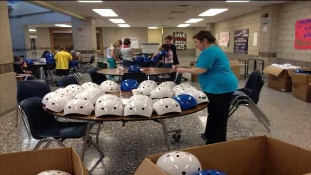 Moore Helmets For Schools Raise Concerns