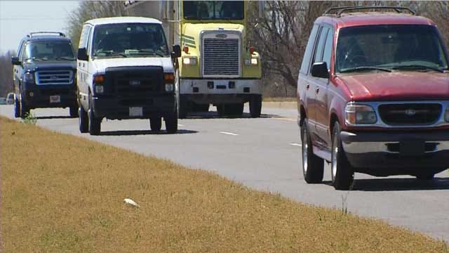 Neighbors Say Stretch Of Mustang Road Is Too Dangerous