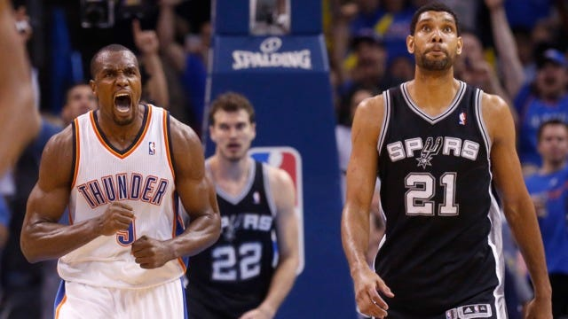 Thunder Quotes After Snapping Spurs' Streak
