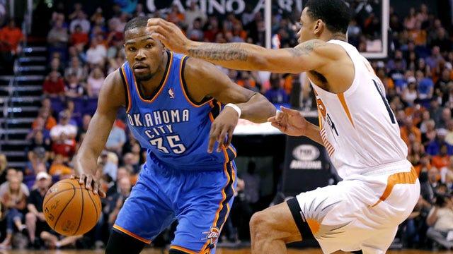 Durant Passes Jordan, Thunder Falls To Suns