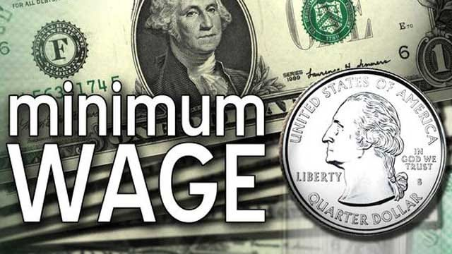 House Approves Measure To Limit Minimum Wage