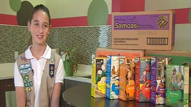 OKC Girl Scout Beats Cookie Sale World Record