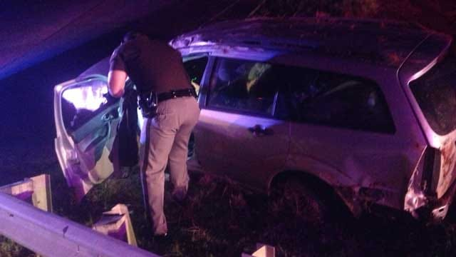 Rollover Accident Injures Woman In SE OKC