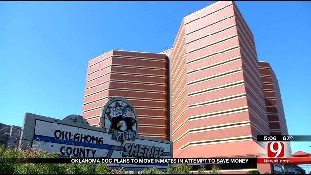 Moving Oklahoma Inmates To Save Money