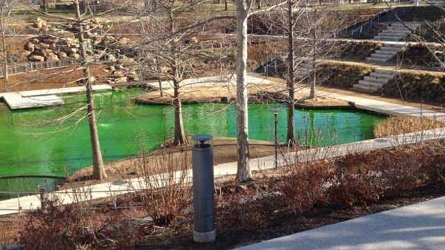 Myriad Gardens Accepts Anonymous Restitution For Green Water Prank