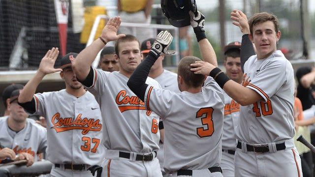 OSU Baseball Wins Tight Contest
