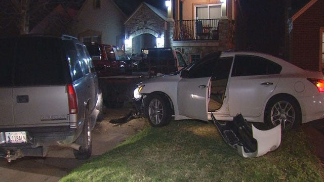 Suspect Flees After High-Speed Chase, Crash In NW OKC