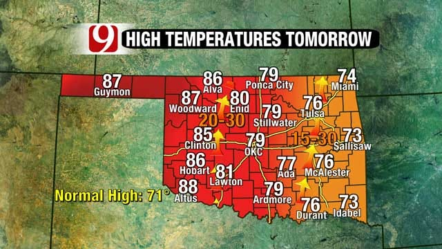 Warmer Weather Creates Extreme Fire Danger Wednesday, Thursday