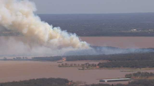 Forestry Service Explains Wednesday's Controlled Burn