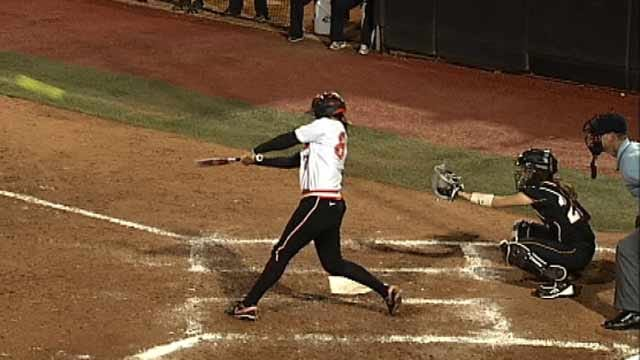 Home Runs Power Cowgirls To Victory