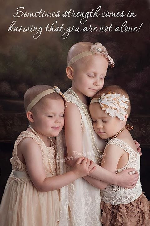 Photo Featuring Oklahoma Girls Battling Cancer Inspires Many