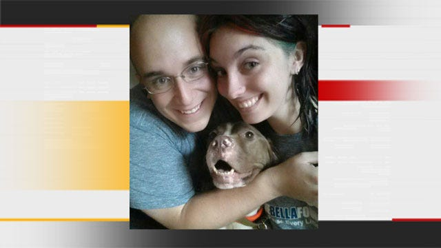 Foster Family Adopts Dog Found Abandoned In MWC