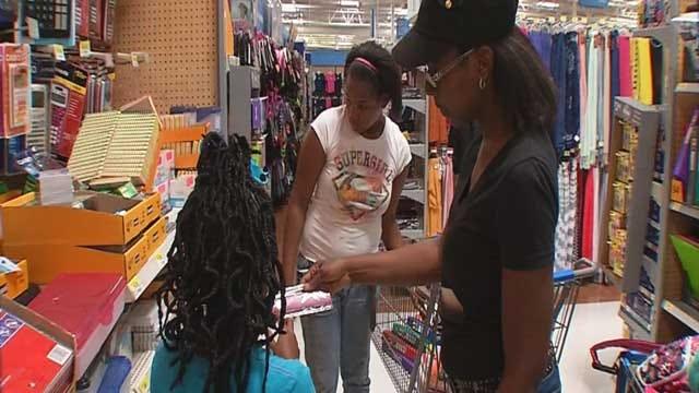 Oklahoma Parents Taking Advantage Of Tax Free Weekend