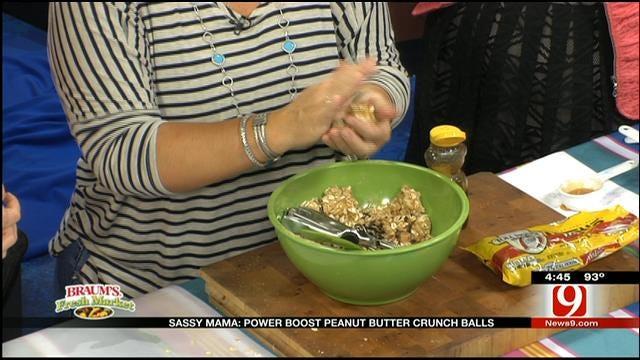 Power Boost Peanut Butter Crunch Balls