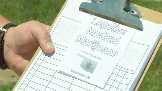 Medical Marijuana Supporters Working Against Deadline To Get Signatures
