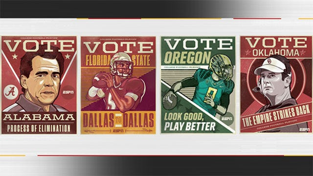 The Empire Strikes Back: ESPN's Campaign Poster For OU's National Title Bid