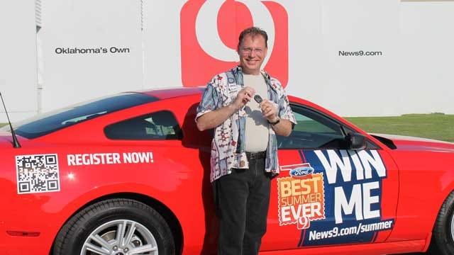 Alva Man Wins News 9's 'Best Summer Ever' Grand Prize