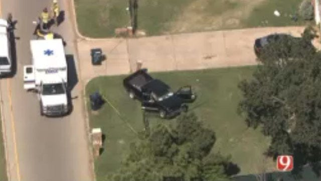 One Killed In SW OKC Two-Vehicle Collision