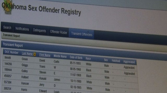 Confusion Continues Over Sex Offender Registry In Oklahoma