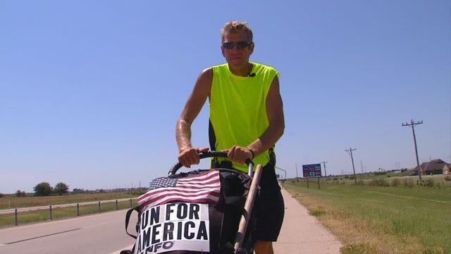 Man Running Across America In Support Of Veterans