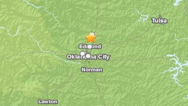 Earthquake Shakes Central OK Residents Awake