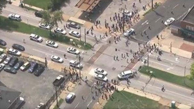 Man Shot Dead By Police Just Miles From Ferguson Unrest