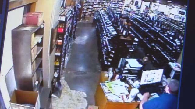 Security Cameras At OKC Business Capture 4.3 Magnitude Quake