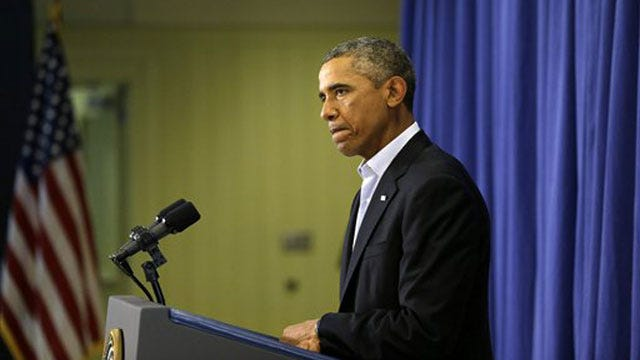 Obama Angrily Reacts To ISIS' 'Cowardly Acts Of Violence'