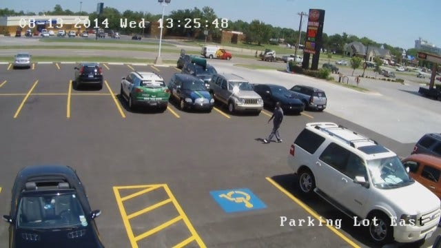 OKC Police Look For Man Who Robbed Woman At Gunpoint