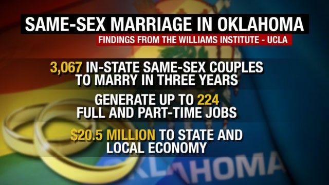 Study: Same Sex Marriage Ban Costing Oklahoma Millions