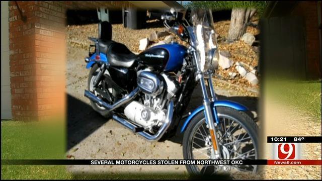 Disabled Vet's Motorcycle Stolen In NW OKC