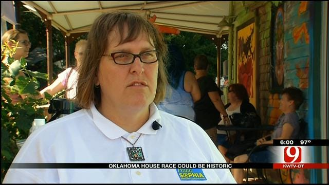 Transgender Candidate Could Mean Historic Oklahoma House Race