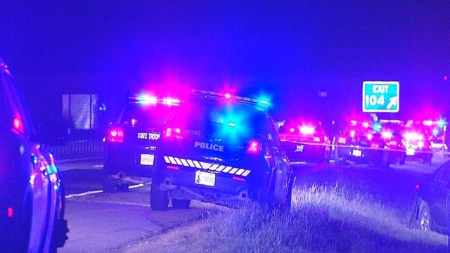 Suspect Shot By Police After High-Speed Chase Ends Near Purcell