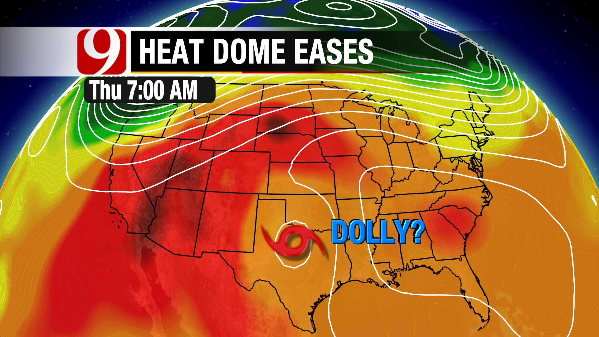 Heat Dome Remains In Oklahoma, Little Relief In Sight