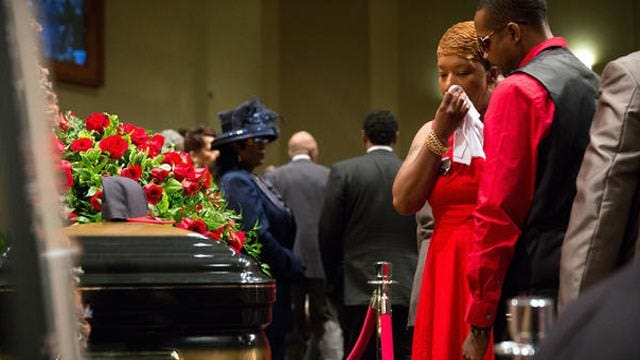 Michael Brown's Funeral Draws Thousands In Missouri