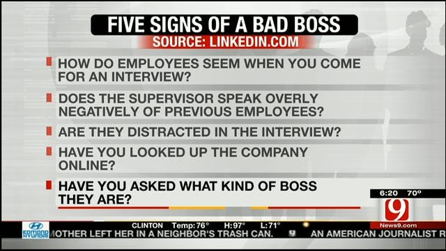 Tips On How To Avoid Working For A Bad Boss