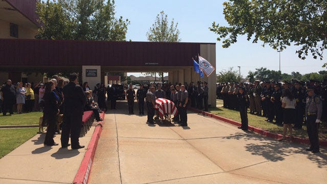 OKC Police K-9 Killed In Line Of Duty Laid To Rest
