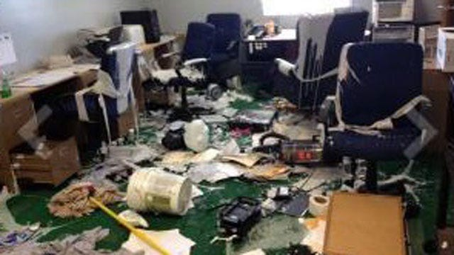 Football Rooms Vandalized At Bridge Creek