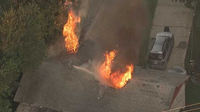 Crews Put Out House Fire In SE OKC